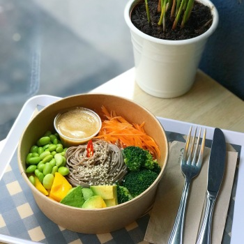Celine's Asian Soba Noodle Bowl - photo by Celine, Blueberrysmiles