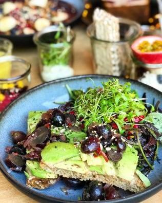 The most epic Avocado and Almond Butter Toast