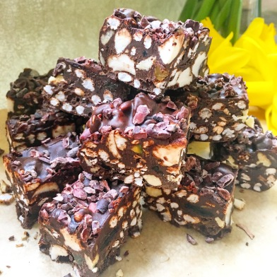 Fudgey Rocky Road Tiffins