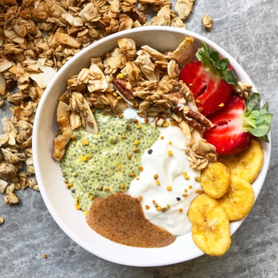 Turmeric and Maca Chia Pudding