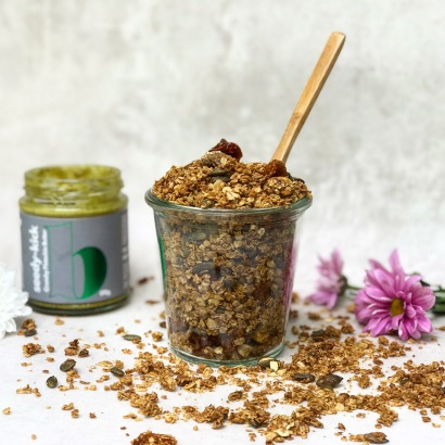 Pistachio Pumpkin Seed and Goldenberry Granola