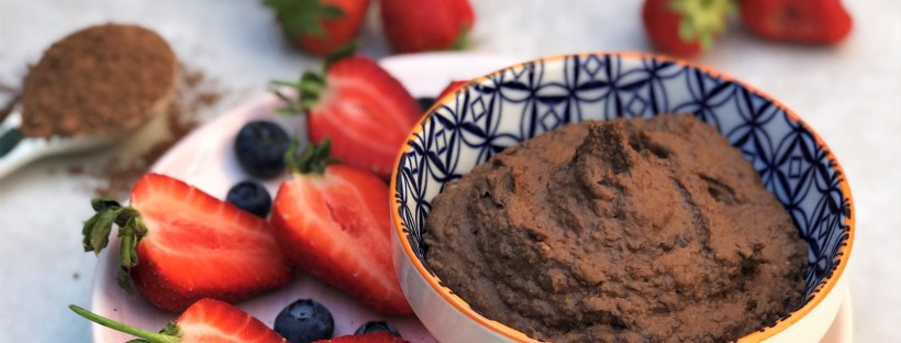 Cacao and Tahini Hummus