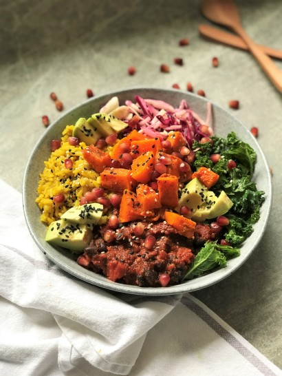 Golden Rice Autumn Nourish Bowl