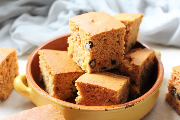 Vegan Black Bean and Sweet Cornbread