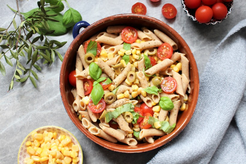 Perfect Pasta Salad - The Vegan 8
