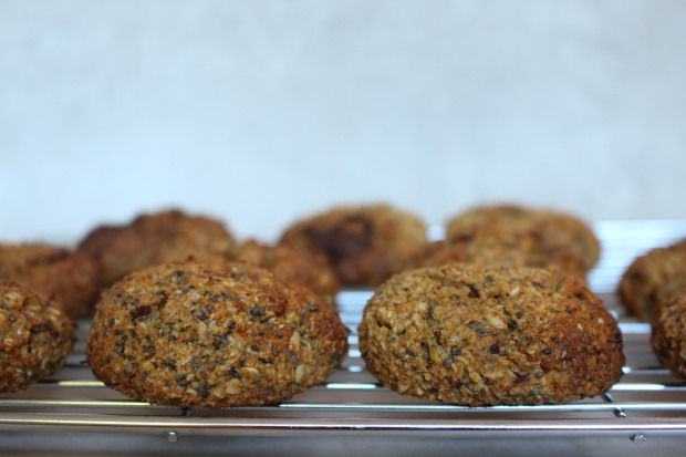 Pumpkin Cinnamon Spiced Breakfast Cookies