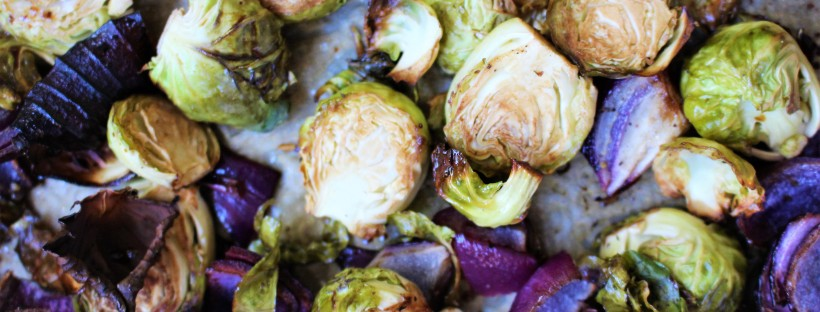 Maple-Balsamic Brussel Sprouts