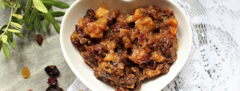 Cinnamon Spiced Mincemeat