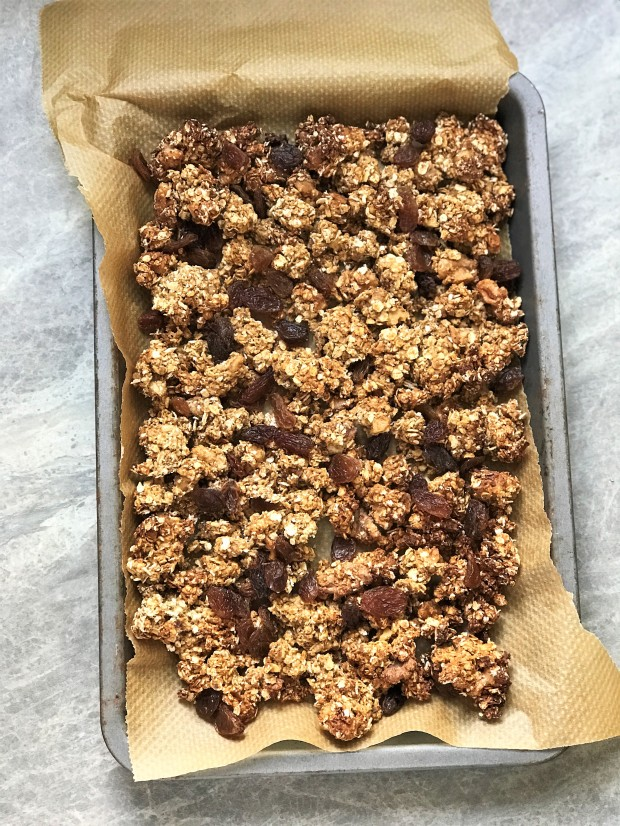 Chai Spiced Walnut Granola