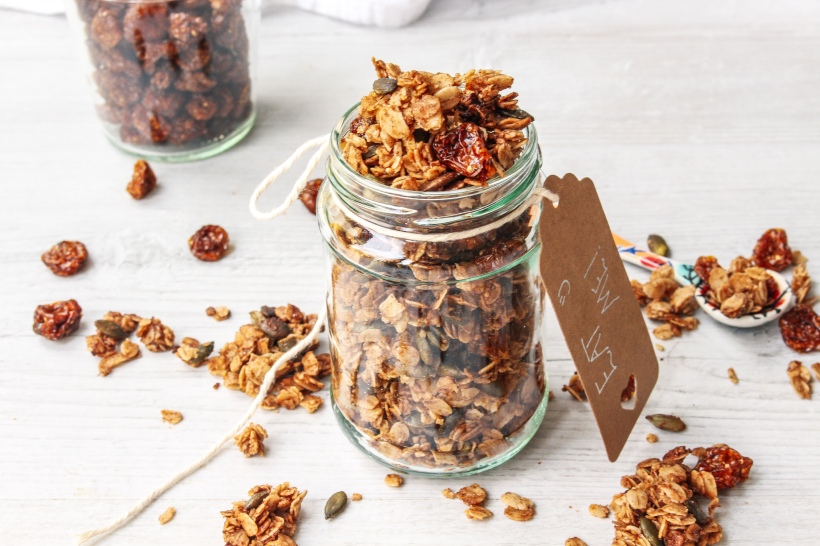 Hot Cross Bun Granola