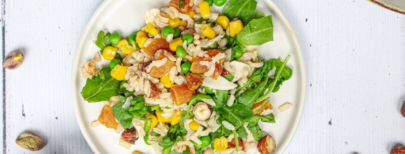 Nutty Rice Salad