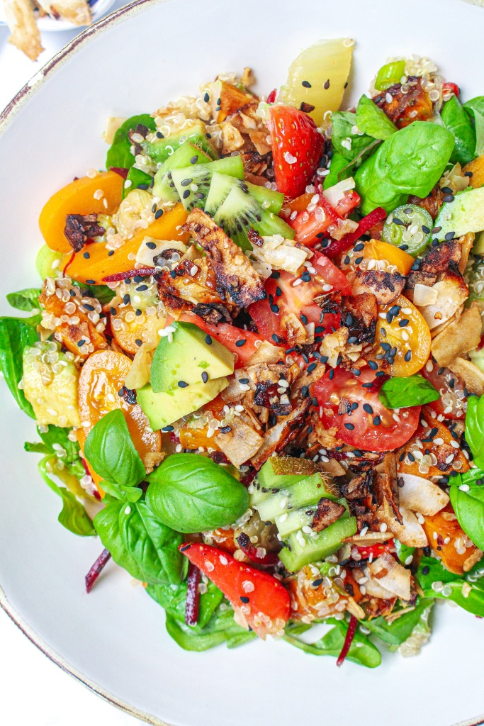 Coconut Summer Salad