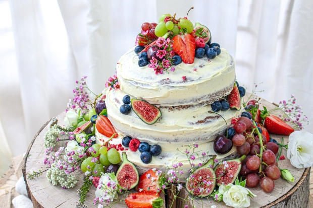 Vegan Vanilla Wedding Cake