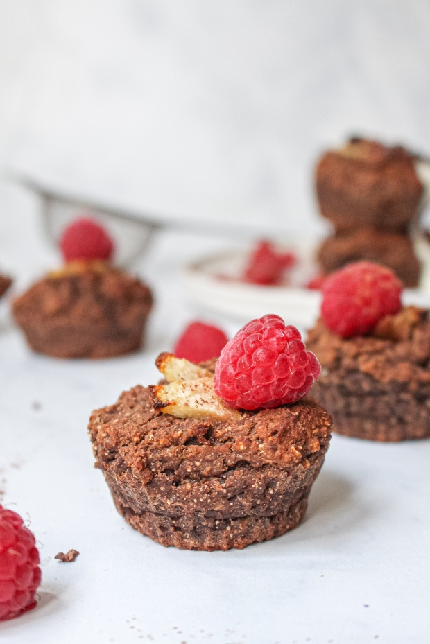 Pear and Chocolate Protein Muffins 5