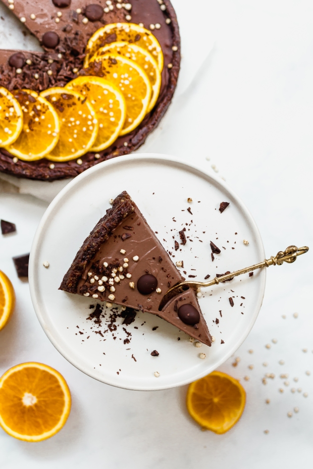 Chocolate Orange Mousse Tart