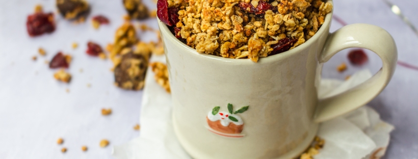 Cranberry and Chesnut Granola