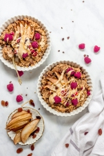 Cinnamon and Pear Baked Oats