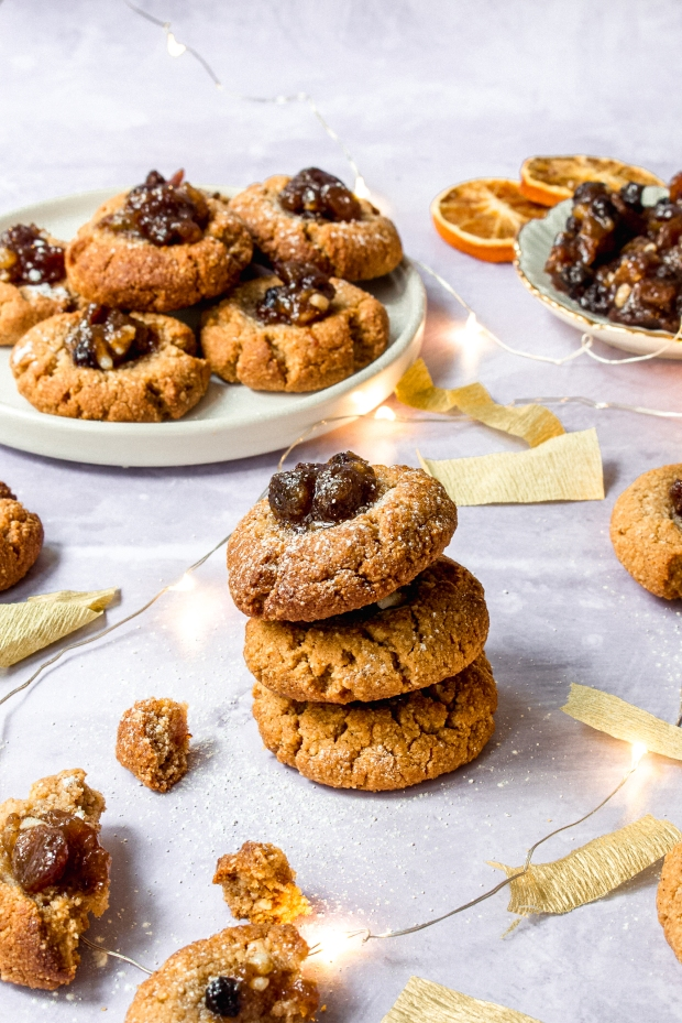 Mince Pie Thumbprint Cookies