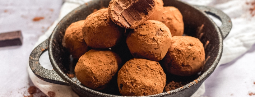 Rich Vegan Chocolate Truffles
