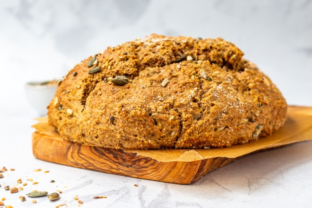 Seedy Wholemeal Soda Bread