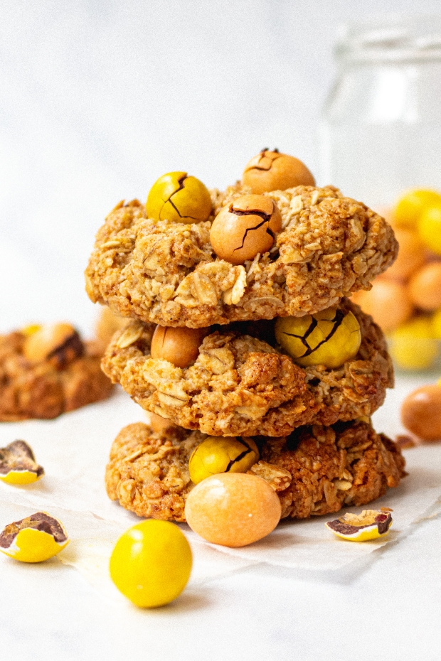 Vegan Flapjack M and M Cookies