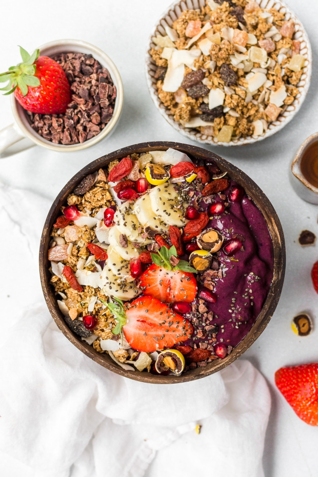 Vanilla Berry Acai Bowl