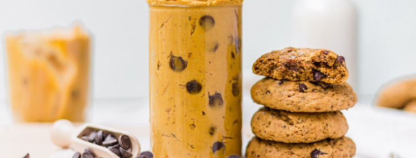 Pumpkin Pie Chocolate Chip Cookie Dough