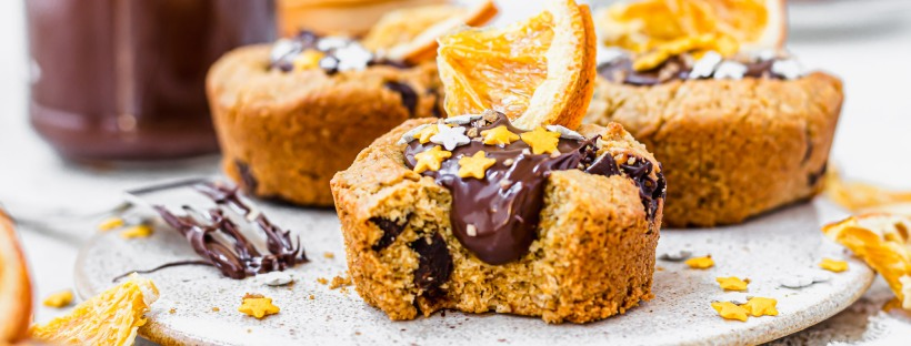 Chocolate Orange Cookie Cups