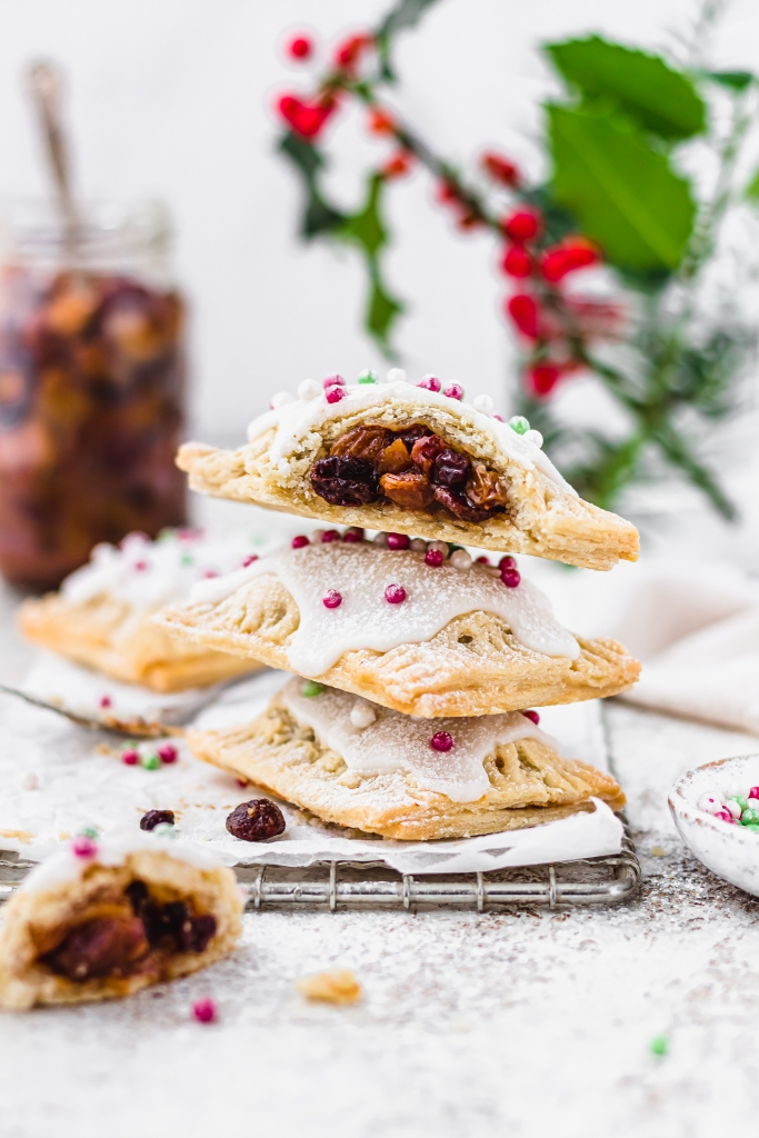 Mince Pie Pop Tarts (Vegan)