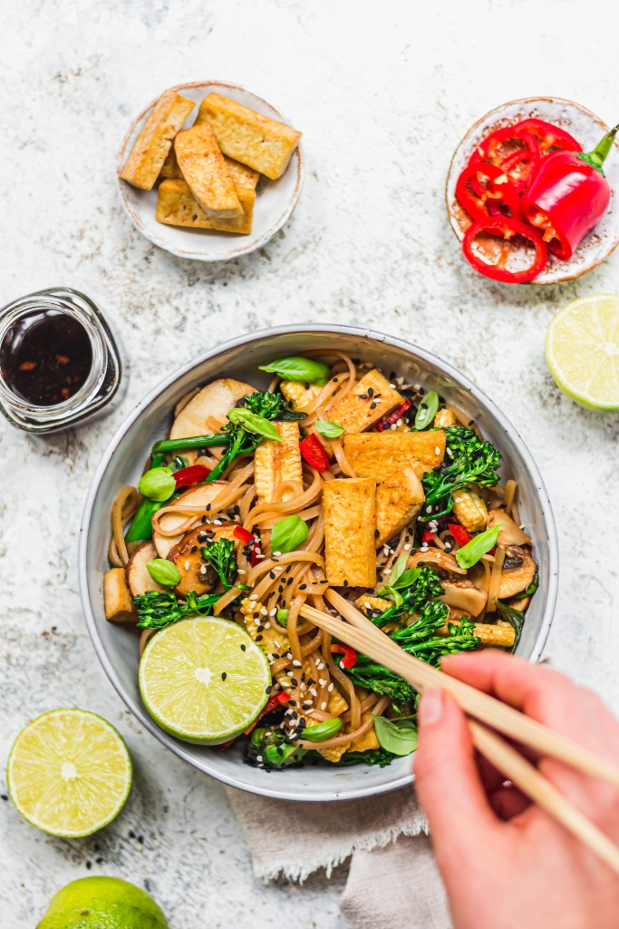 "Vegan ""Drunken"" Noodles"
