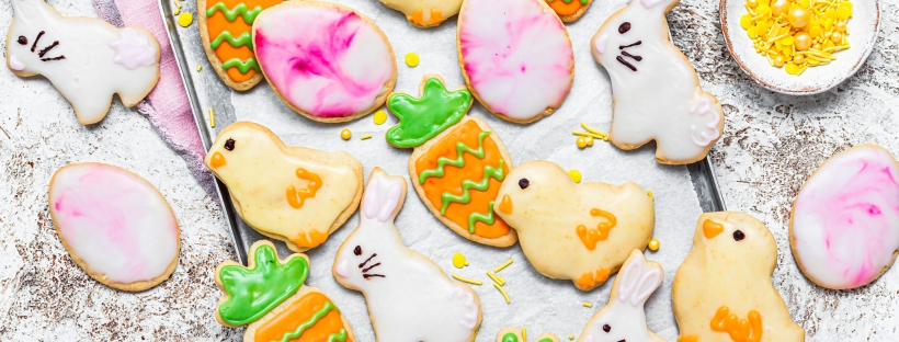 Vegan Easter Sugar Cookies